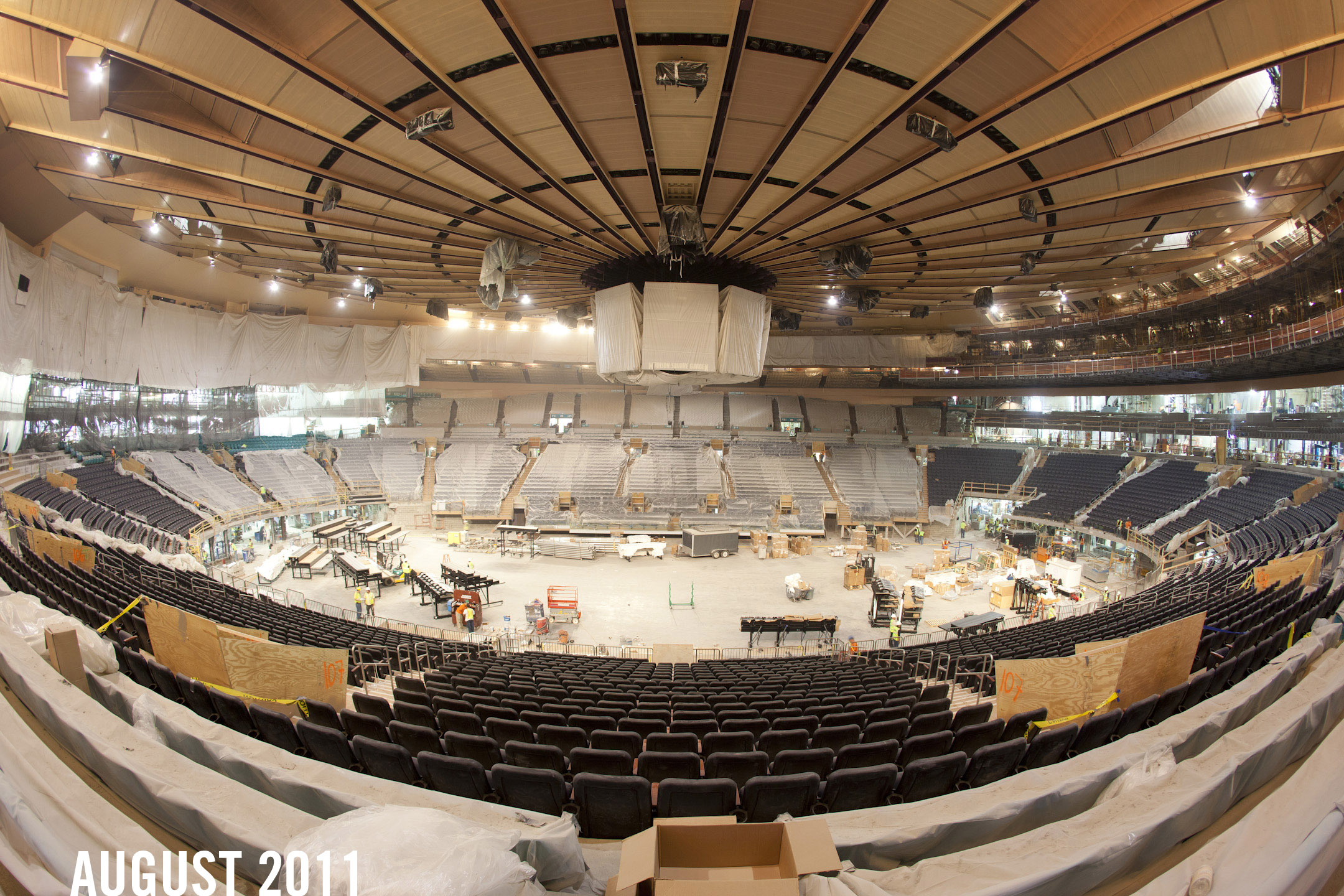 BlueLINES for BlueSHIRTS! August 30th - MSG Renovation Update