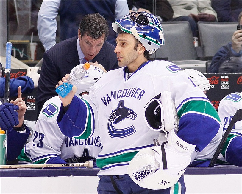 The Divorce Of Roberto Luongo And The Vancouver Canucks