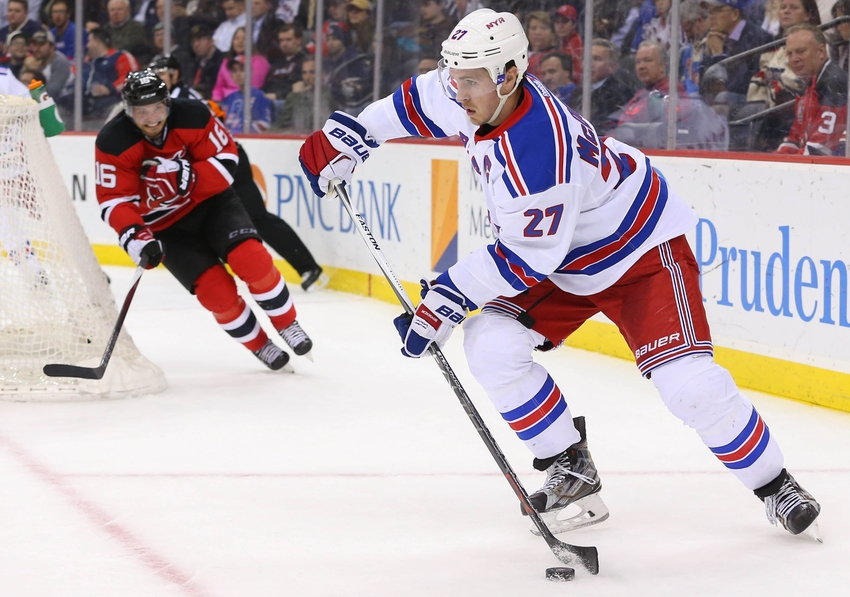 uk availability c8775 81f91 New York Rangers Can be Fine Without Ryan McDonagh