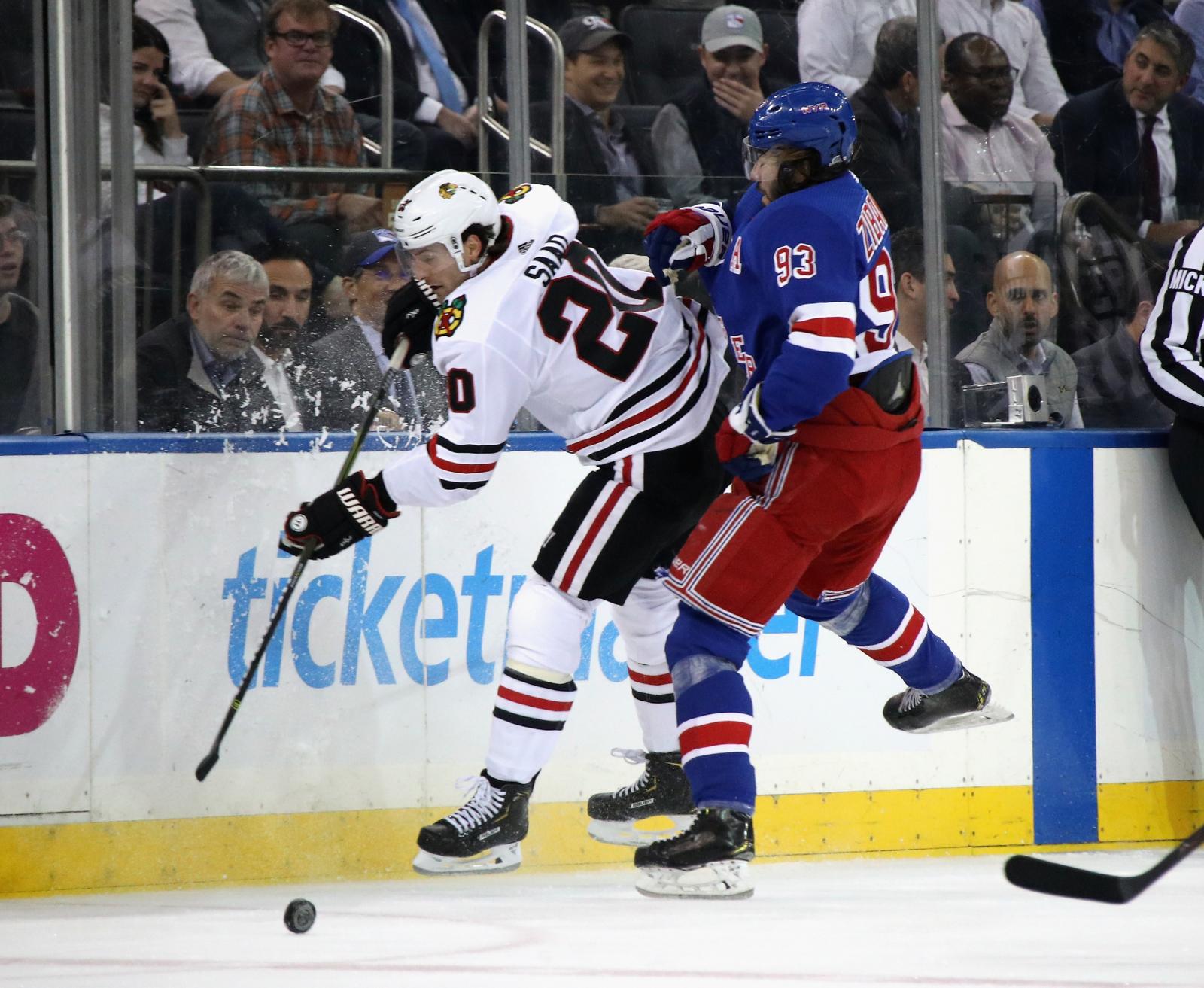 New York Rangers vs Blackhawks: A battle of playoff wannabes
