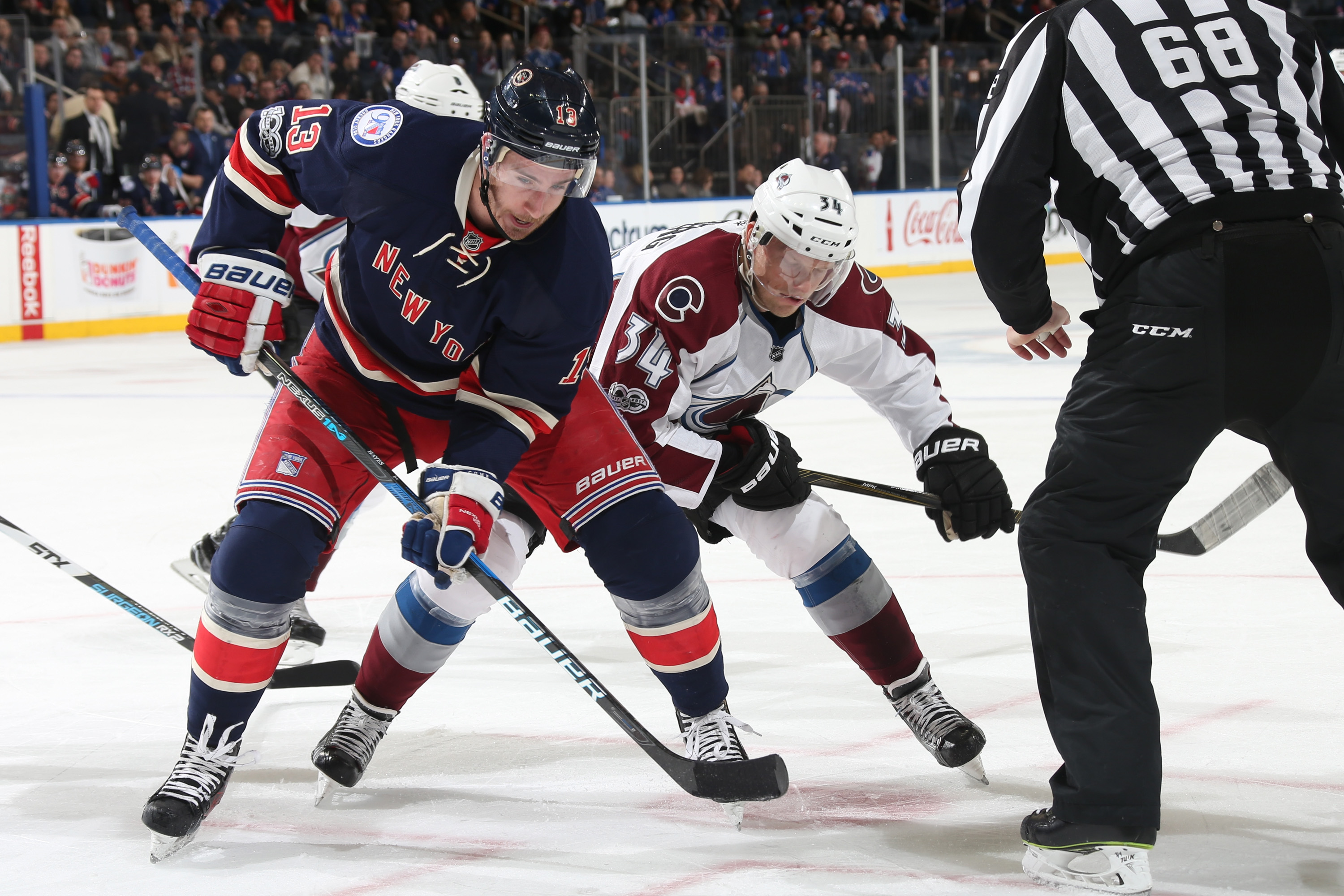 New York Rangers Analysis: Varlamov steals a win for Colorado