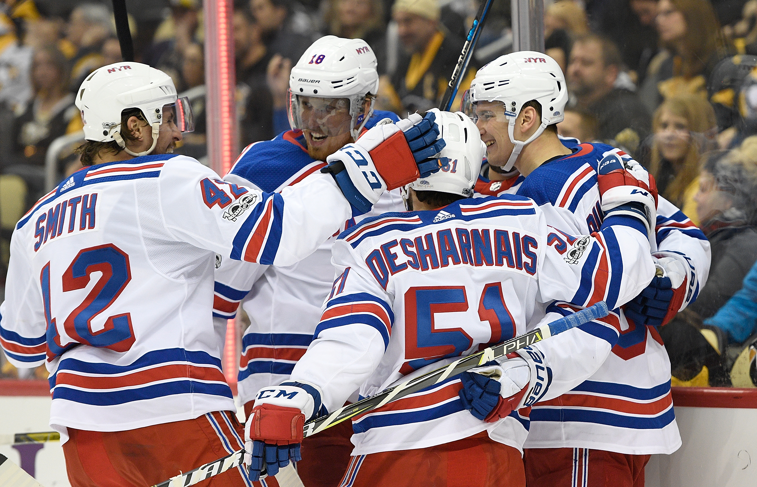 Capitals beat Rangers for fourth straight win