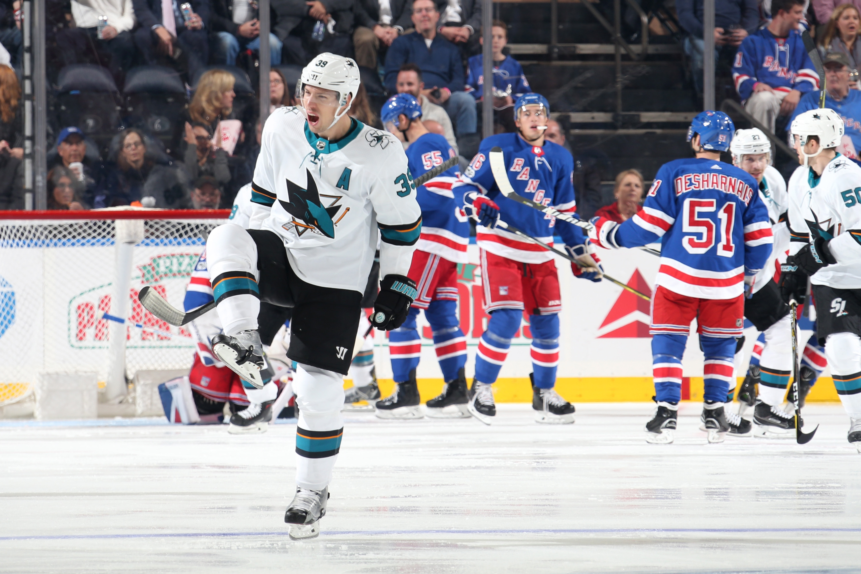 McDonagh's first objectives of season raise Rangers previous Sharks