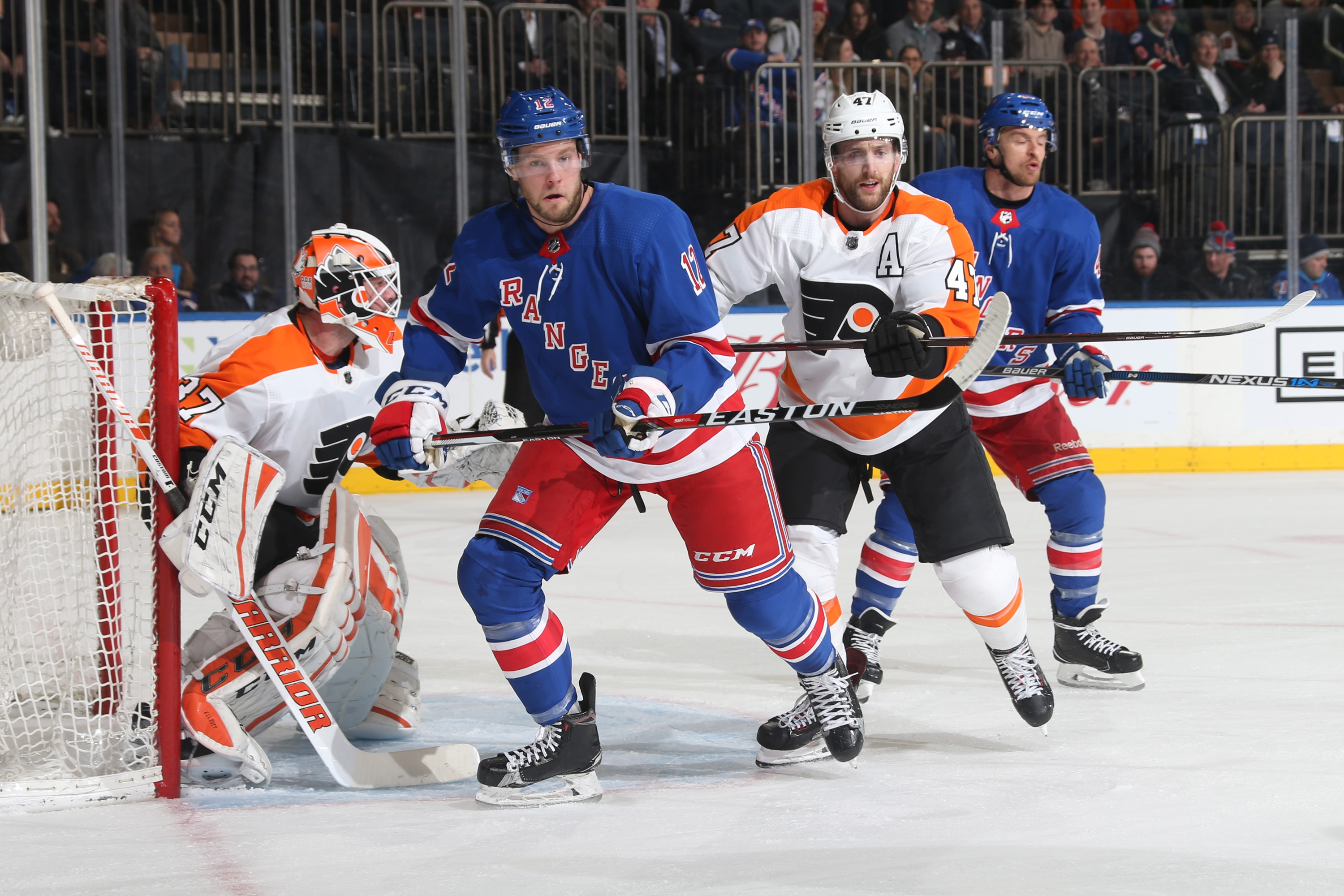 New York Rangers Analysis: Lose wild one to Flyers 7-4