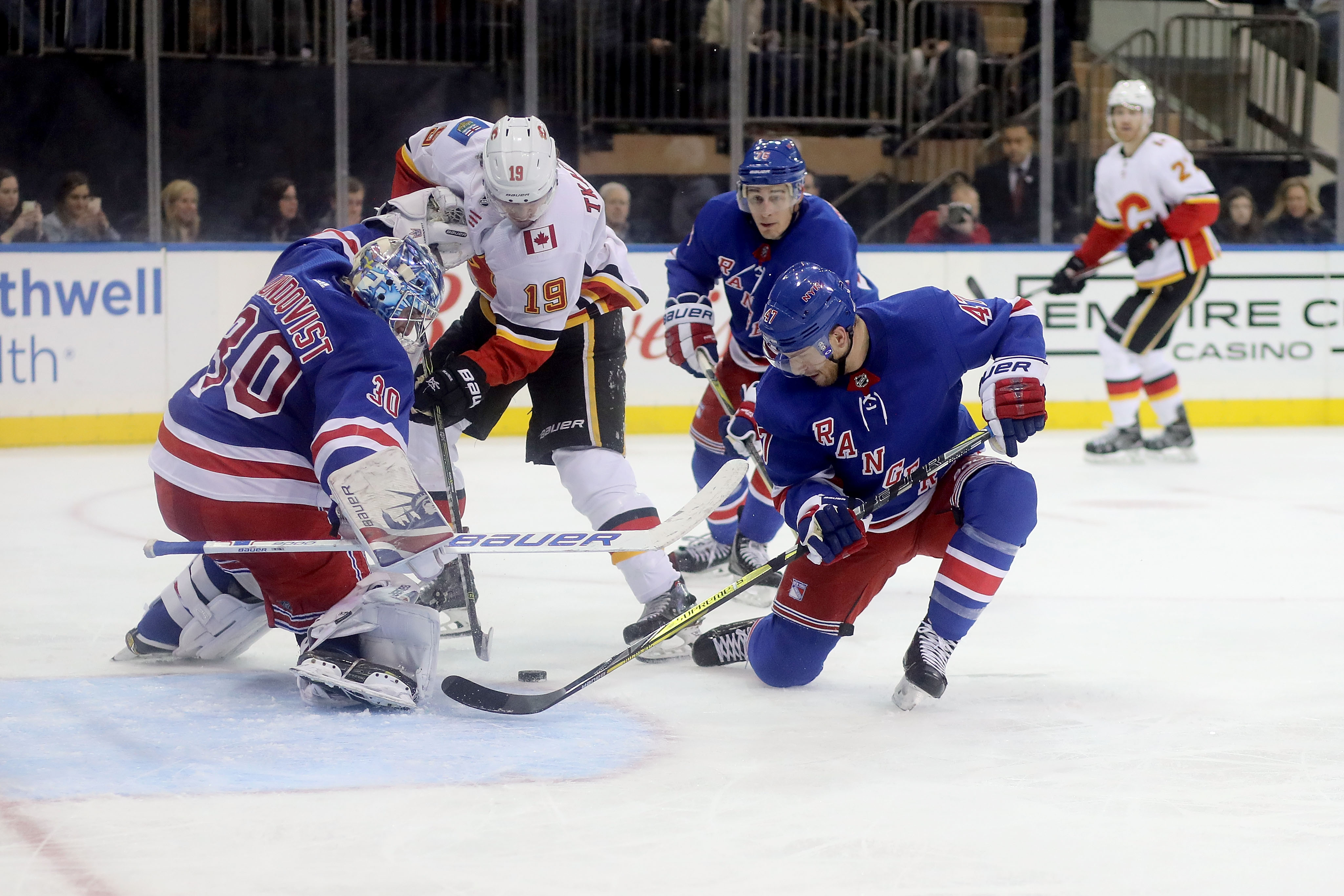 Memorable birthday: Rangers' Lundqvist sets record with another 50-save win