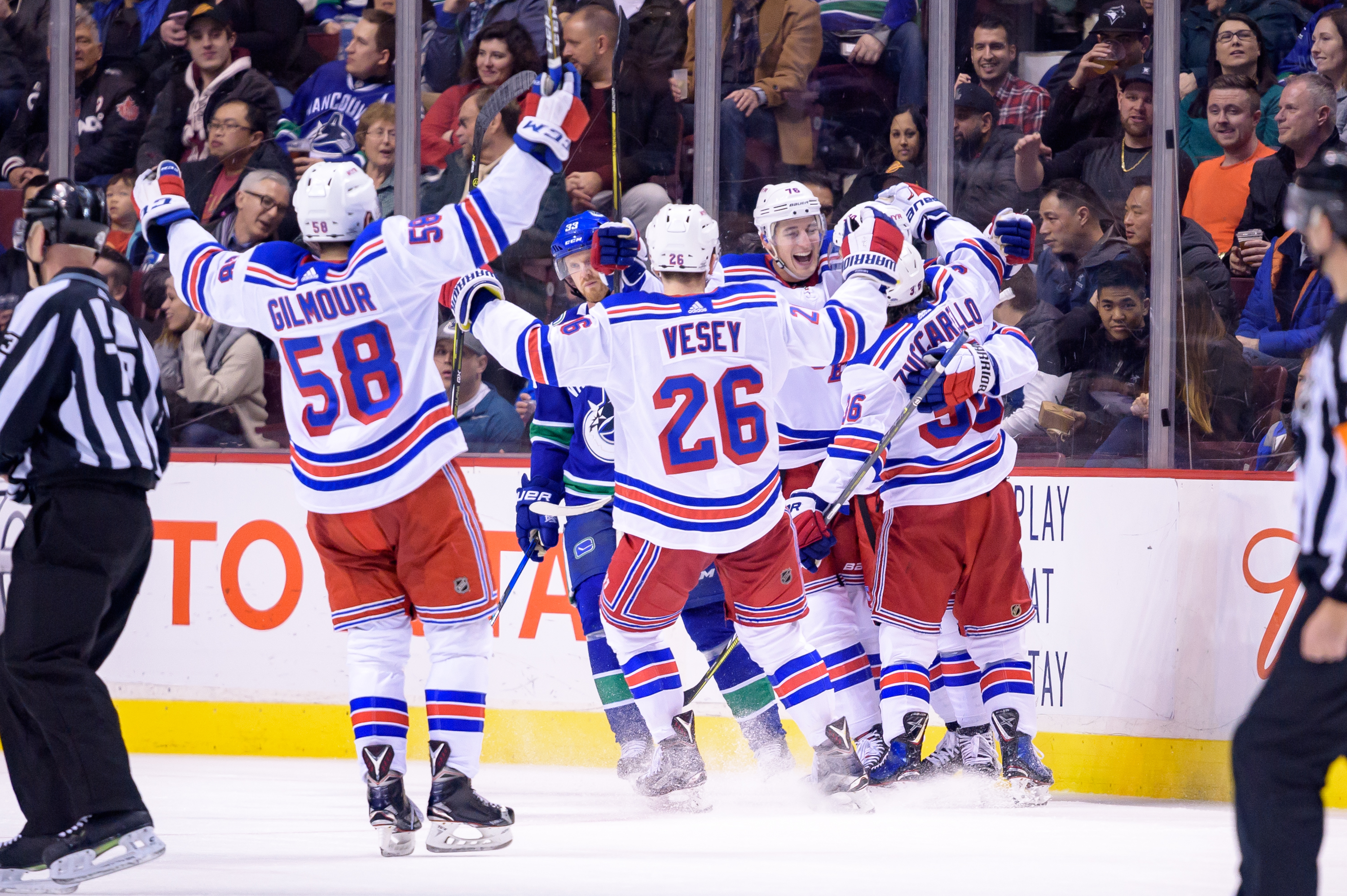 Namestnikov scores in Broadway debut as Rangers hold off Canucks in OT