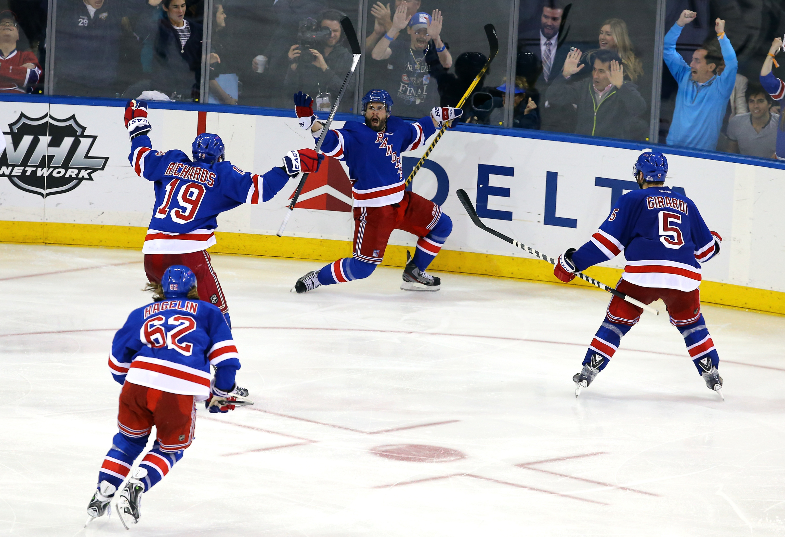 New York Rangers doing their best to take us all back to a happier place