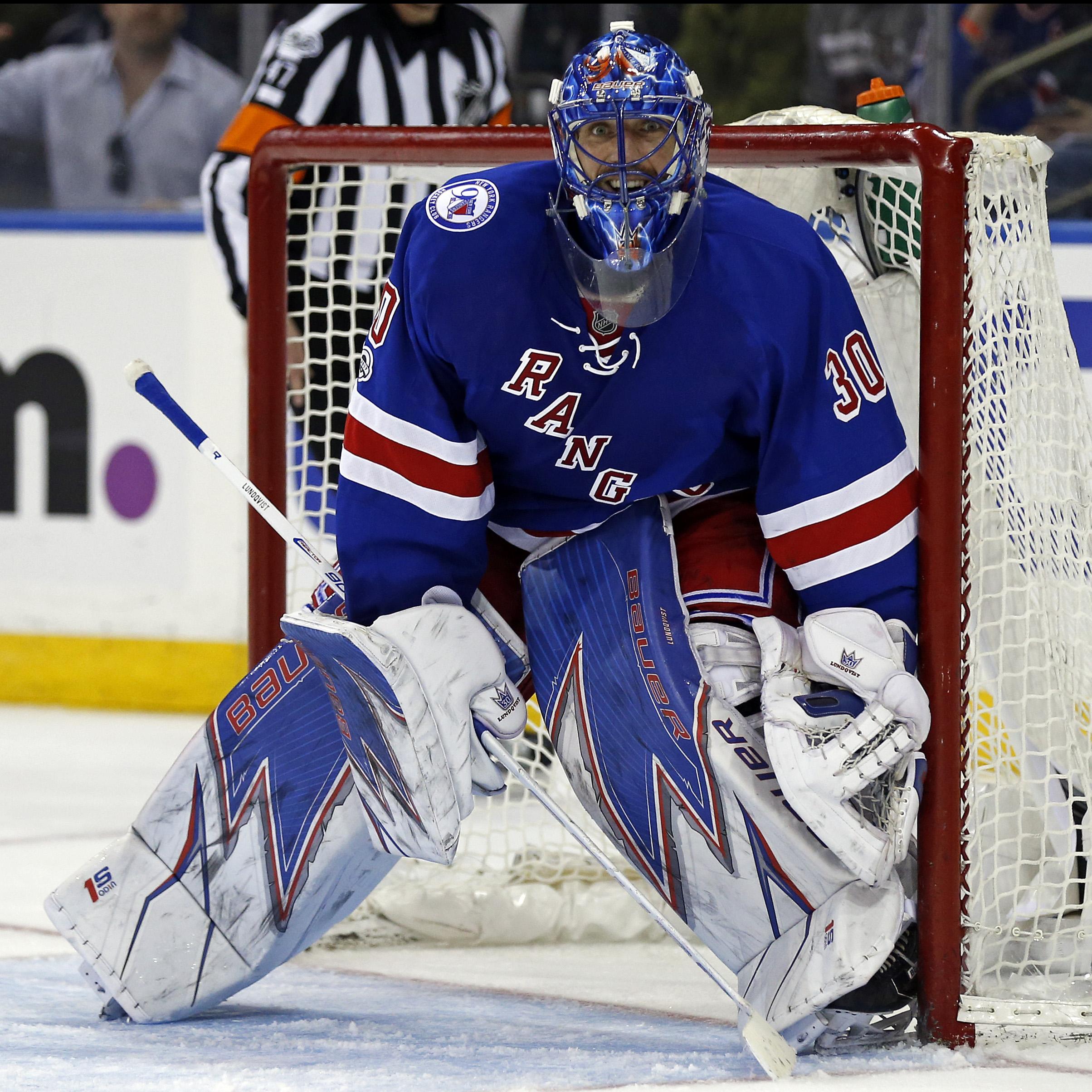 New York Rangers Henrik Lundqvist S Top 5 Moments Against The Devils