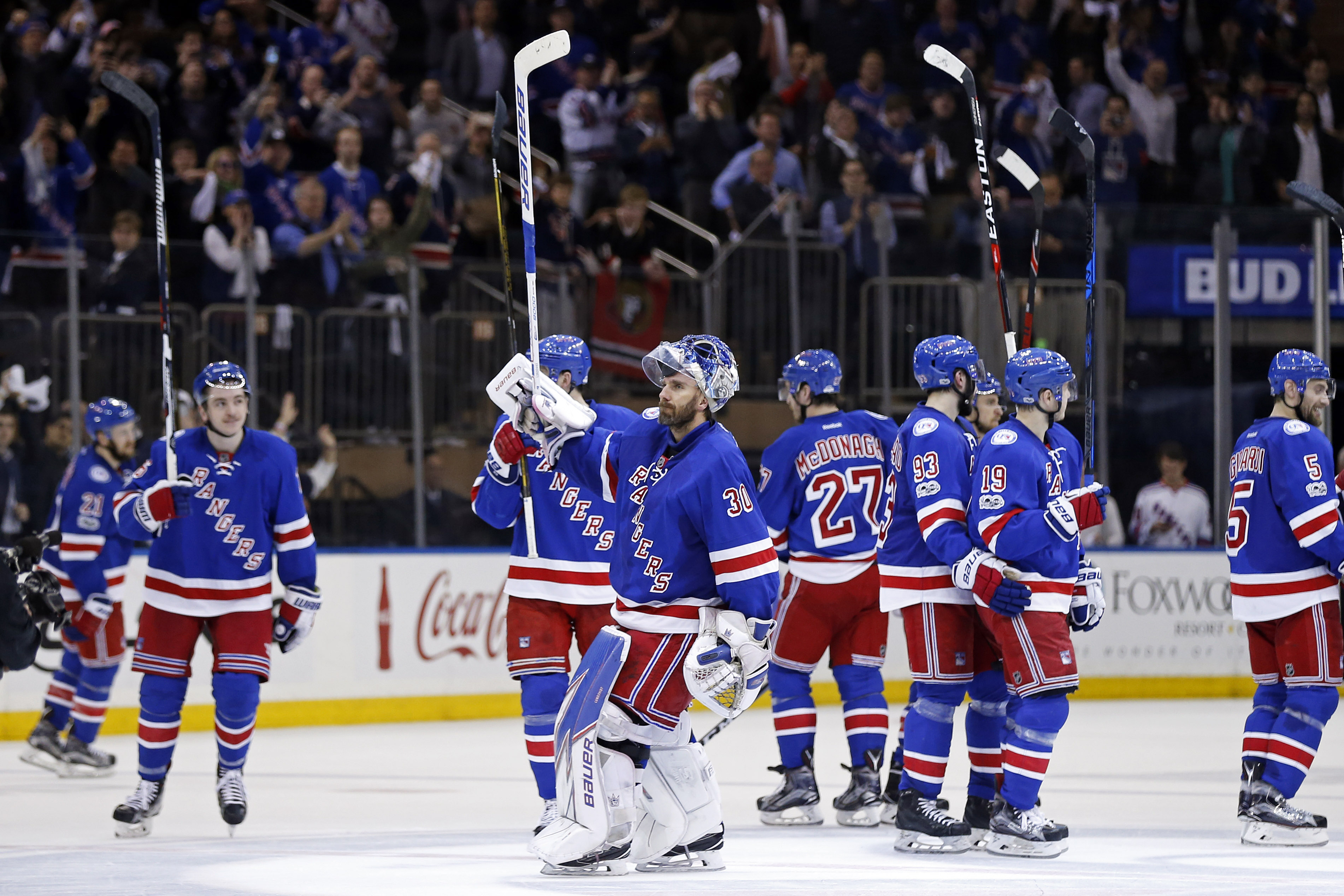 new york rangers top five moments of the 2016 2017 season